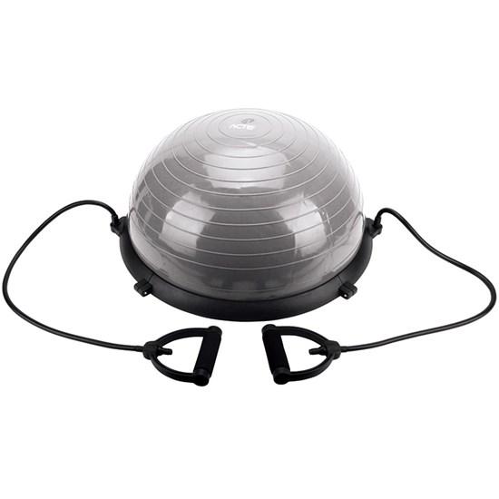 Meia Bola Balance Dome Ball de Equilíbrio até 250 KG com Bomba de Ar Acte Sports T19
