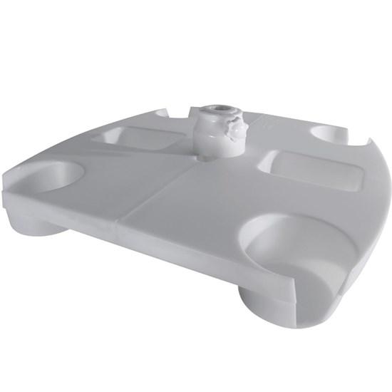Mesa para Guarda Sol com Display Box Branco - Belfix