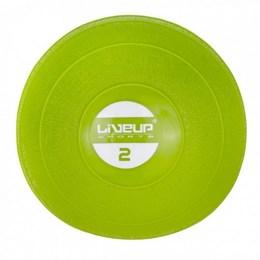 Mini Bola Peso 2Kg para Exercícios LiveUp LS3003-2