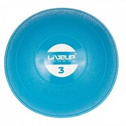 Mini Bola Peso 3Kg para Exercícios LiveUp LS3003-3