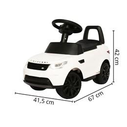 Mini Carro Elétrico 6v Importway Discovery Branco