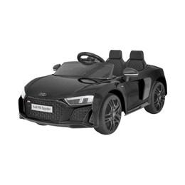 Mini Carro Elétrico Importway Audi R8 Spyder 12V Preto com Luzes e Som