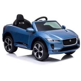 Mini Carro Elétrico Importway Jaguar 12V Azul Petróleo com Luzes e Som