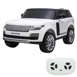 Mini Carro Elétrico Importway Land Rover Branco 24V com 2 Assentos