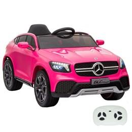 Mini Carro Elétrico Importway Mercedes Benz GLC Coupe Concept 12V Rosa
