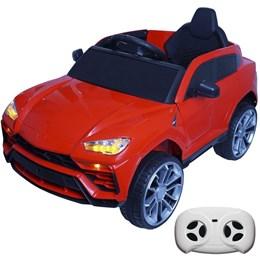 Mini Carro Elétrico Infantil Esportivo Importway BW029 Vermelho com Controle Remoto