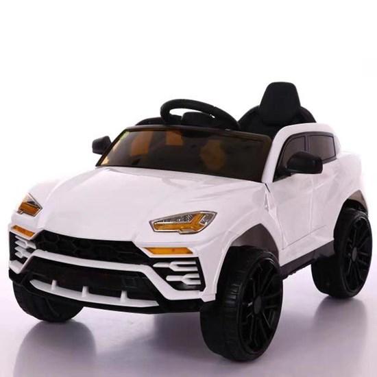 Mini Carro Elétrico Infantil Importway Branco 12V com Controle Remoto