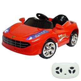 Mini Carro Elétrico Infantil Importway BW097 Vermelho 6V Com Controle Remoto