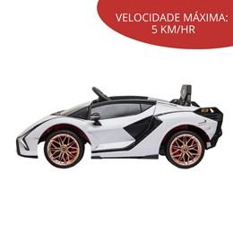 Mini Carro Elétrico Infantil Importway Lamborghini Sian BR Controle Remoto