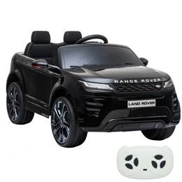 Mini Carro Elétrico Licenciado Importway Land Rover Evoque Preto com Controle Remoto