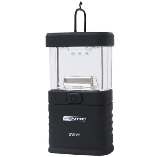 Mini Lampião a Pilha Talino Nautika 11 LEDs Preto 310655