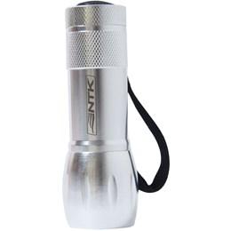 Mini Lanterna de Alumínio 9 LEDs à Pilha Blitz - Nautika