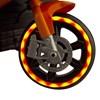 Mini Moto Elétrica Infantil 6V Importway Laranja com Luz nas Rodas
