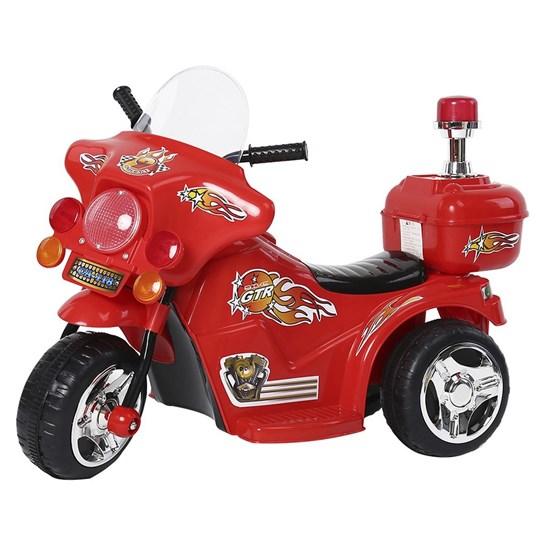 Mini Moto Elétrica Infantil com Farol BW-006VM Vermelho