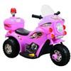 Mini Moto Elétrica Infantil com Farol e Sirene BW002R Rosa