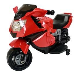 Mini Moto Elétrica Infantil Importway BW044 com Luzes e Som Vermelha