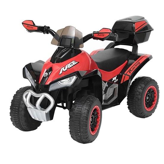 Mini Quadriciclo Elétrico Infantil Importay BW129VM Vermelho 6V com Carregador
