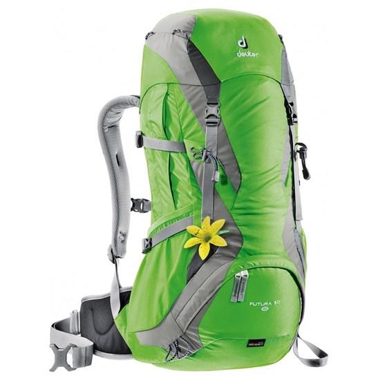Mochila Cargueira para Hiking 30 Litros Futura 30 SL Deuter 700045 Verde