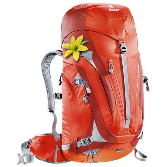Mochila Cargueira para Hiking 32 Litros Act Trail PRO 32 SL Deuter 700435 Vermelho