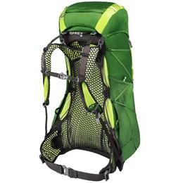 Mochila de Ataque 38 Litros OSPREY Exos Tamanho M para Hiking Verde Escuro