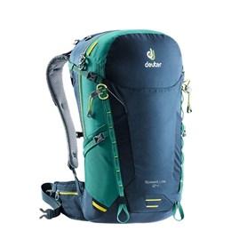 Mochila de Ataque Deuter Speed Lite 24 2018 para Hiking Azul e Verde