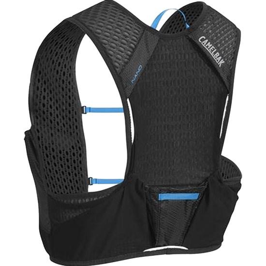 Mochila de Hidratação Nano Vest M CamelBak Preto para Ciclismo + 2 Garrafas
