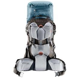 Mochila Deuter Aircontact Pro 55+15 Litros SL Azul para Caminhadas e Viagens