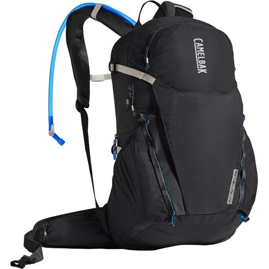Mochila para Hiking e de Hidratação CamelBak Rim Runner 22L + 2,5L de Reservatório Preto