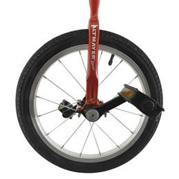 Monociclo Mirim Aro 16 Altmayer AL-121 em Aço Carbono Vermelho