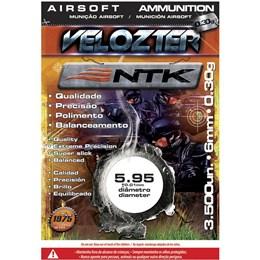 Munição BBs Airsoft 0,30g Nautika Velozter com 3500 Unidades