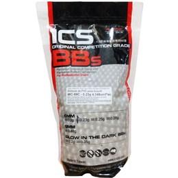 Munição BBs para Airsoft 0.23g Profissional Esferas Plásticas 4.348 Unidades - ICS MC-99C