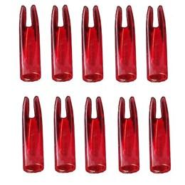 Nock para Arcos Man Kung 30 Polegadas 10 Unidades Vermelho