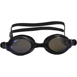 Óculos de Natação Astro Adulto com Lente Policarbonato Espelhada Preto - Nautika 500250