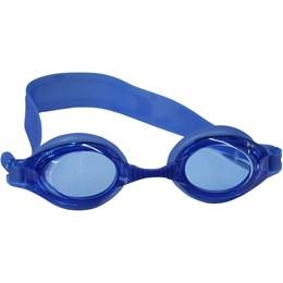 Óculos de Natação Bit Infantil com Corpo e Tiras de Silicone Azul - Nautika 500120