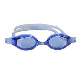 Óculos de Natação Fusion Adulto com Tiras de Silicone Azul Escuro - Nautika 500050