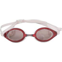 Óculos de Natação Zoop Adulto com Lente Policarbonato Espelhada Vermelho - Nautika 500300