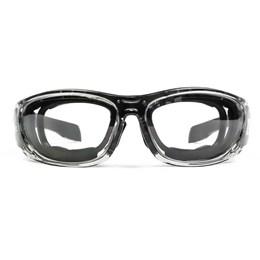 Óculos de Proteção Tático EVO Sierra Lente Transparente Tiro Esportivo