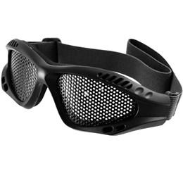 Óculos de Tela para Airsoft Kobra Tático com Cinto Ajustável Preto Nautika