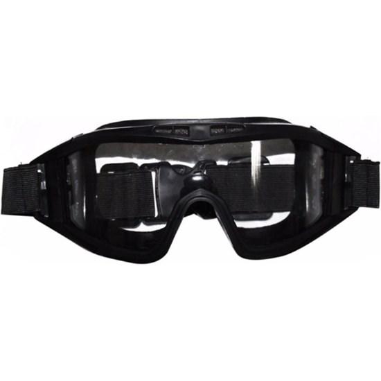Óculos Proteção Airsoft Paintball Ajustável Lente em Policarbonato HY009
