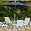 Ombrelone Garden Milano 250 2,5 m Azul Design Sofisticado Nautika