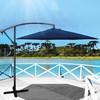 Ombrelone Lateral 3m Mor Bora Bora Azul com Manivela + Luminaria Led para Ombrelones
