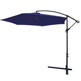 Ombrelone Suspenso 3 metros com Proteção UV IWOBL-300AZ Azul