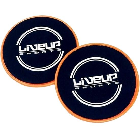 Par de Discos Deslizamento para Exercícios de Equilíbrio - LIVEUP LS3360