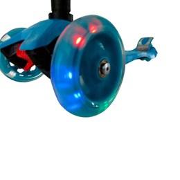 Patinete Infantil Brinqway BW011 com 3 Rodas e Altura Ajustável Azul