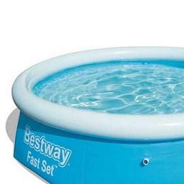 Piscina inflável Bestway Fast Set 1400 Litros até 4 Pessoas