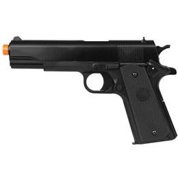 Pistola 1911 Airsoft Spring Full ABS 245FPS Magazine 12BBs - KWC