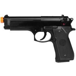 Pistola Airsoft 230 fps Spring KwC Beretta M92 6mm Preta
