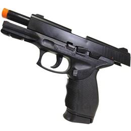 Pistola Airsoft 24/7 com Trava de Segurança KwC com 1000 BB's 0,12g