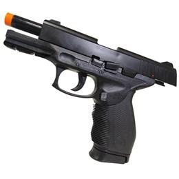 Pistola Airsoft 24/7 KwC com Trava de Segurança + BB's 1000 unidades
