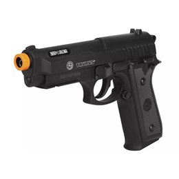 Pistola Airsoft 360 FPS Co2 Taurus PT92 Cybergun + 2 Minis Cilindros CO2